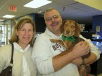 Lucy Red gets adopted by Malcolm and Louise Clark.
