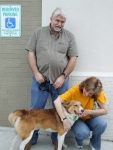 Sarge gets adopted